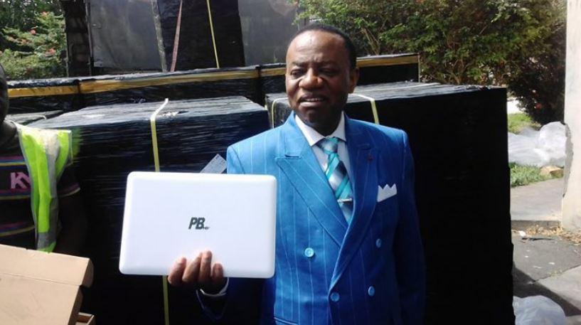 Il est incrusté dans chaque exemplaire qui sera remis aux étudiants camerounais dans le cadre du projet «E-National Higher Education Network».