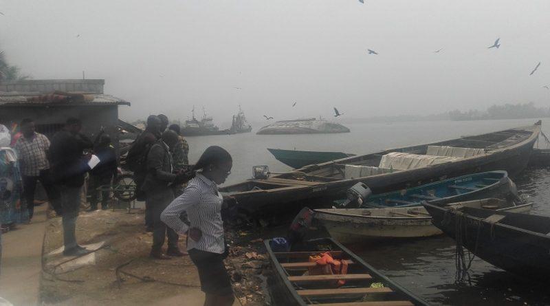 L'argent servira à la réalisation de la construction d'un débarcadère et d'un marché de poissons de Youpwè.