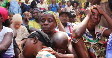 Des familles camerounaises ont trouvé refuge à Utanga, Obanliku, au Nigéria, après avoir fui l'insécurité dans les régions anglophones
