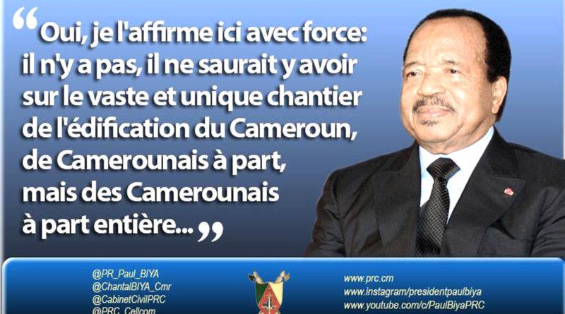 A l'approche du 20 mai, Etoudi a engagé une campagne de propagande pour embrouiller le débat sur la construction de cet idéal.