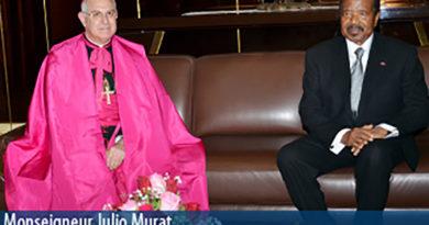 nouveaux ambassadeurs accrédités à Yaoundé
