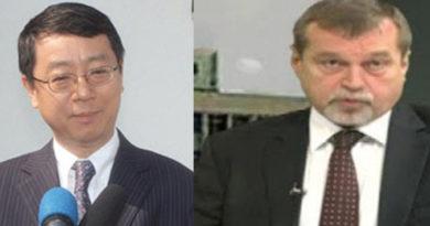 Wang Ying Wu et Anatoly Bashkine